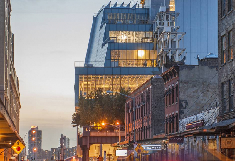 The New Whitney Museum of American Art
