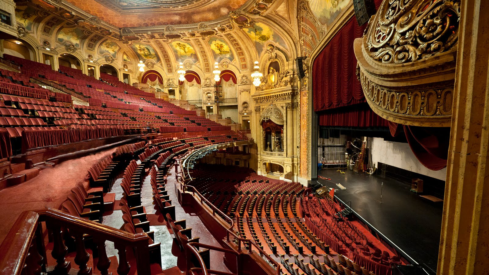 Pook diemont ohl theatre contractor rigging the for Floor and decor chicago